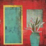 """""""Spanish Door"""" - 20"""" x 20"""" - Works on Paper"""