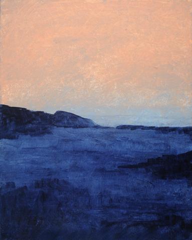 """Winter Night Sky"" - 24"" x 30"" - Acrylic on Canvas"