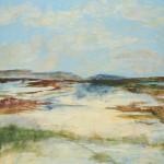 """""""Palm Beach Dunes"""" - 24"""" x 30"""" - Acrylic on Canvas"""