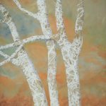 """Sycamore Tree Series II"" - 20"" x 24"" - Mixed Media"