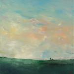 """Trip to the Dairy Barn II"" - 20"" x 20"" Acrylic on Canvas"