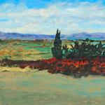 """""""Breaux Vineyard"""" - 30"""" x 30"""" - Acrylic on Canvas"""