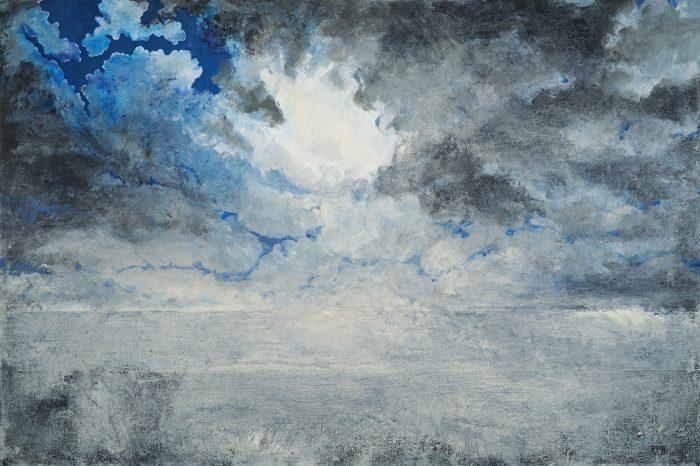 """""""Evening Mist"""" - 24"""" x 36"""" - Acrylic on Canvas"""